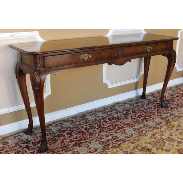Weiman Tables Heirloom Quality French Walnut Living Room Sofa ...