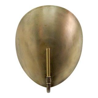 Brass Shell Wall Light