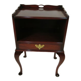 1940s Mahogany Night Stand by Beacon Hill For Sale