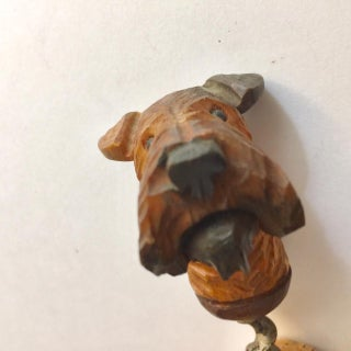 1940s Vintage Handcarved Airedale Terrier Corkscrew Preview