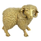 Image of DaNisha Dan Ferguson Bronze Ram Sculpture Limited Edition of 25 For Sale