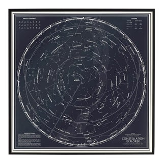 """Constellation Explorer"" Northern Hemisphere Star Chart For Sale"