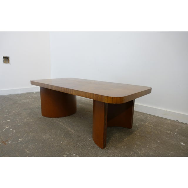 1950s Mid-Century Modern Gilbert Rohde Coffee Table For Sale - Image 9 of 9