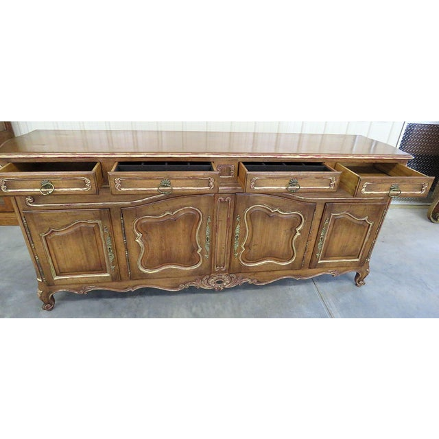 Wood Country French Sideboard For Sale - Image 7 of 9
