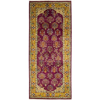 "Ziegler, Hand Knotted Runner Rug - 4' 3"" X 9' 9"" For Sale"