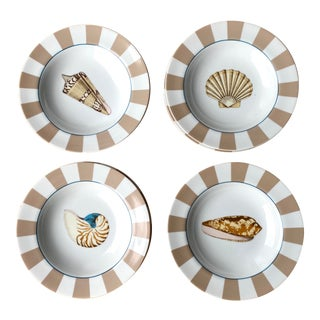 Contemporary Stafford Antigua Salad Plates - Set of 8 For Sale