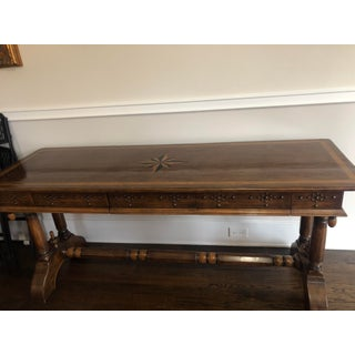 Solid Wood Buffet Table With Inlay Preview