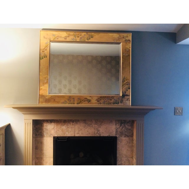 1980s La Barge Chinoiserie Mirror For Sale - Image 11 of 13