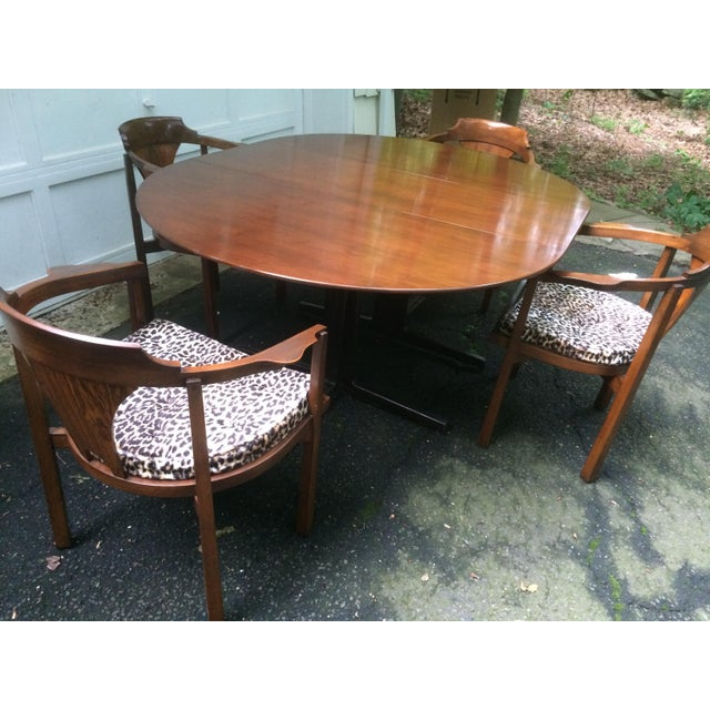 Edward Wormley for Dunbar Rosewood Dining Set For Sale - Image 11 of 11