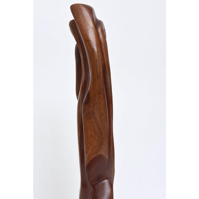 Abstract Expressionist Wood Sculpture, Raul Varnerin For Sale - Image 10 of 10