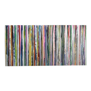 Cathy Choi S19808 Striped Painting For Sale