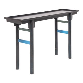 Jim Rose Steel Ming Shanxi Table For Sale