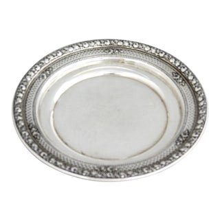 Wallace Sterling Wine Coaster/Candy Dish For Sale