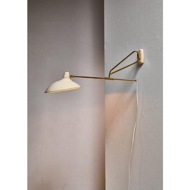 Mid-Century Modern Kaiser Model 6777 Swiveling Wall Lamp, Germany For Sale - Image 3 of 5