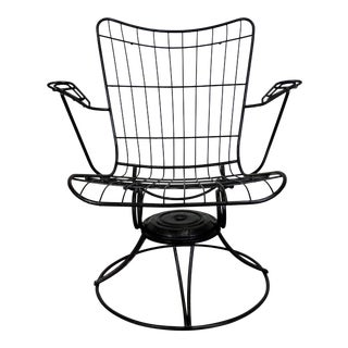Mid-Century Modern Homecrest Bottemiller Outdoor Lounge Chair For Sale