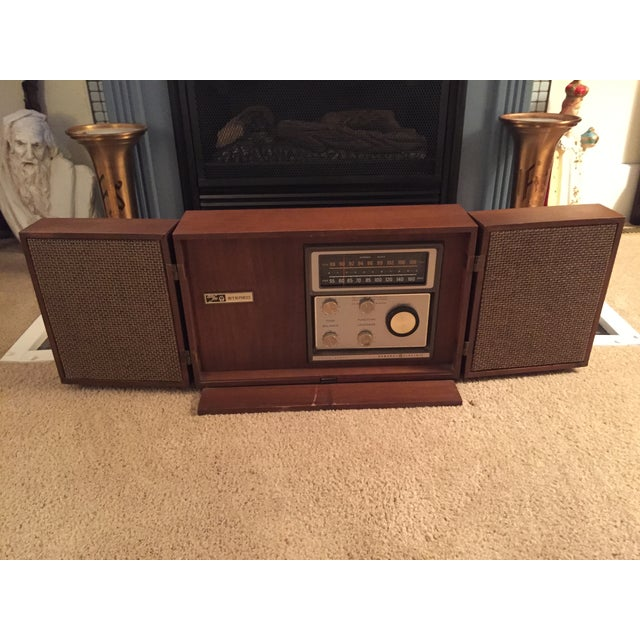 Mid-Century General Electric Folding Speaker Radio - Image 2 of 7