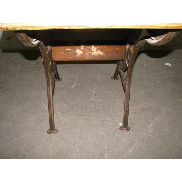 Old School House Student Desk For Sale - Image 9 of 9