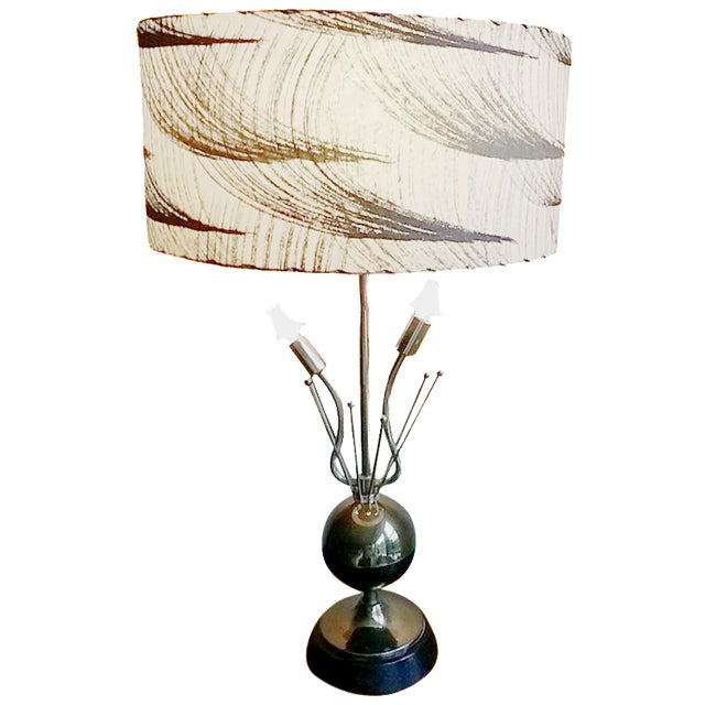 1950s Atomic Table Lamp - Image 1 of 5