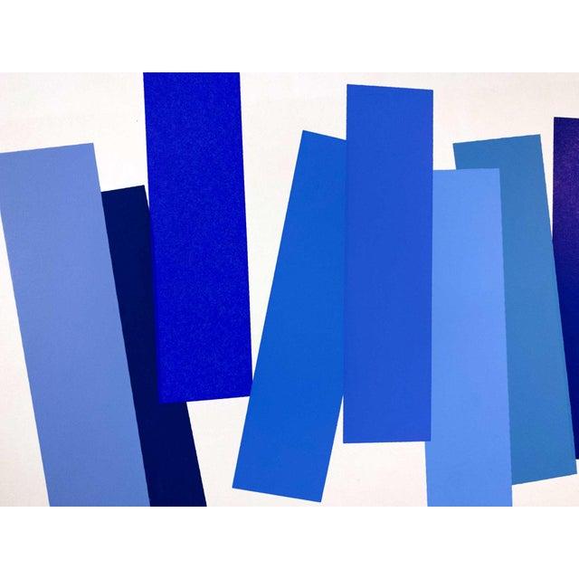 1960s Modern Josef Albers Original Silkscreen [V-3a] Ltd Ed. Color Study + Custom Framing For Sale - Image 5 of 6