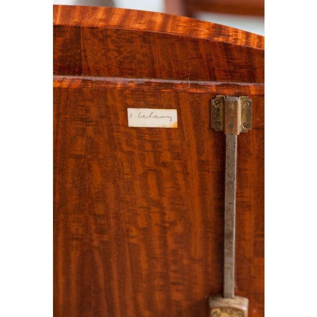 Brown Jules Leleu Buffet For Sale - Image 8 of 11