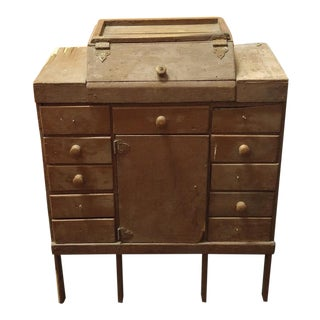 Vintage Small Parts Cabinet For Sale