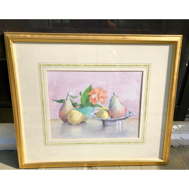 Still Life Watercolor of Fruit For Sale - Image 10 of 10
