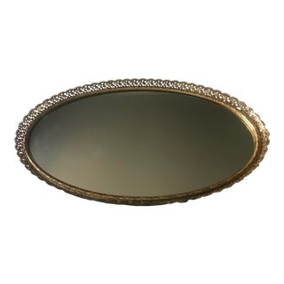 Mid-Century Vanity Mirror Tray For Sale