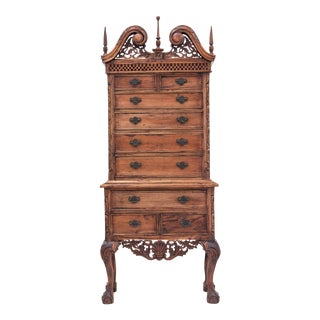 Small-Scale Chippendale Highboy