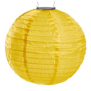 Soji Illume Outdoor Solar Powered Lantern in Marigold For Sale