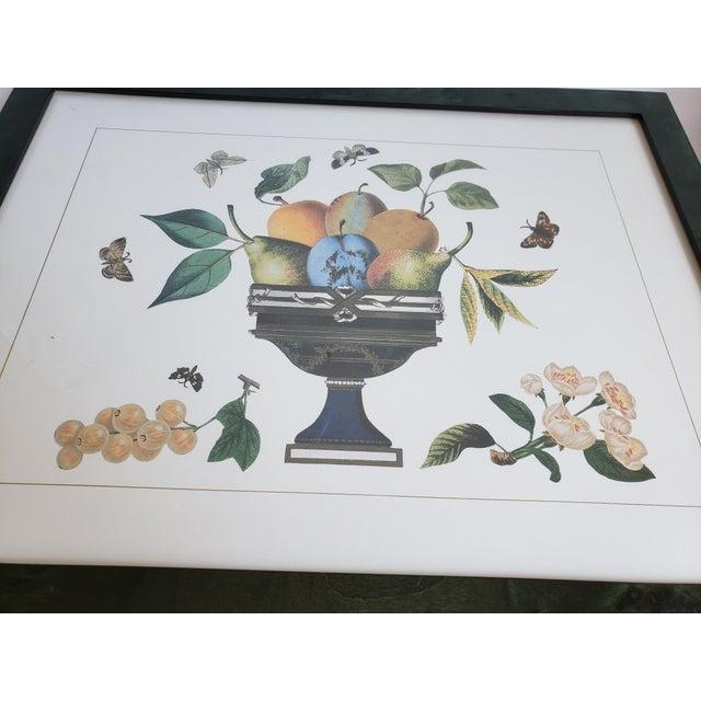 Wood Decorative Butterfly Botanical Framed Prints-Set of 3 For Sale - Image 7 of 12