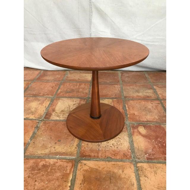 Kipp Stewart Walnut Side Table - Image 8 of 8
