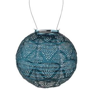 Soji Stella Outdoor Globe Lantern in Ink Wave For Sale