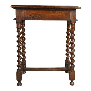 Flemish Baroque Walnut Table