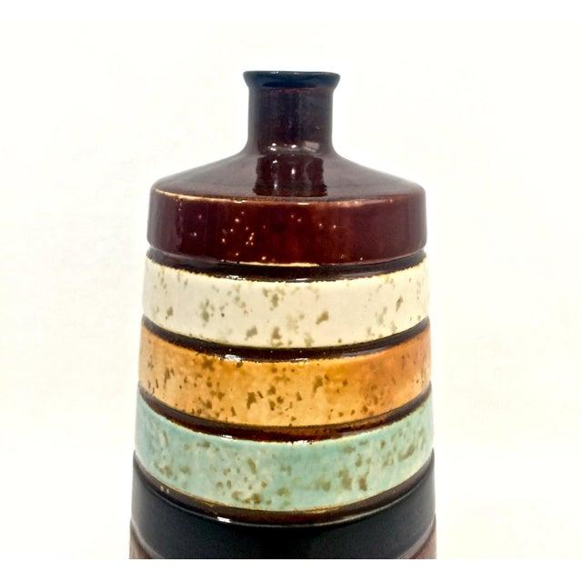 Ceramic Midcentury-Style Bud Vase For Sale - Image 4 of 6