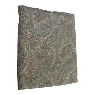 Contemporary Paisley Fabric - 7 Yards For Sale