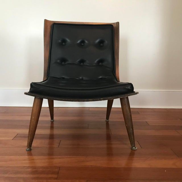 Found this chair a few years ago at a place called Class & Trash in Glen Allen, VA. Had it in my ad agency where it drew...