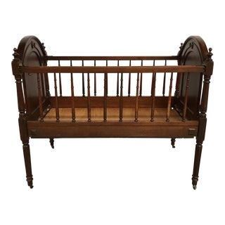 Late 1800s Antique Crib