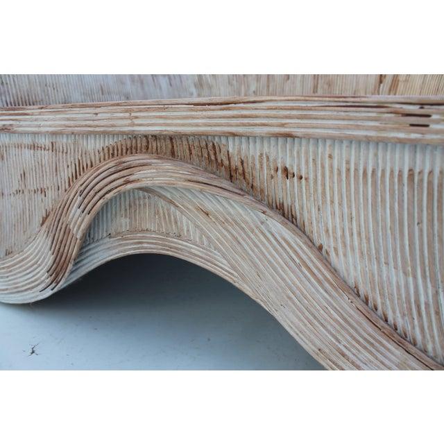 Gabriella Crespi Style Pencil Bamboo Club Chair - Image 9 of 11