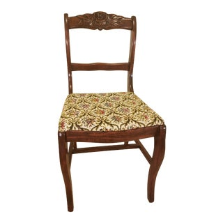 1930s Antique Liberty Chair Company Mahogany Side Chair For Sale