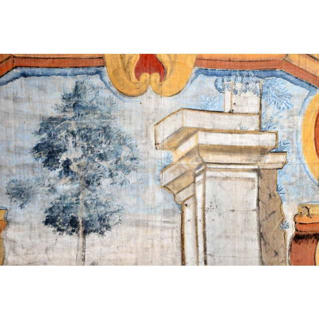 18th Century French Chateau Banner For Sale - Image 12 of 13