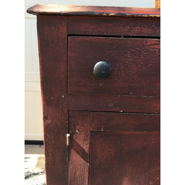 Brown Antique Jelly Cabinet For Sale - Image 8 of 11