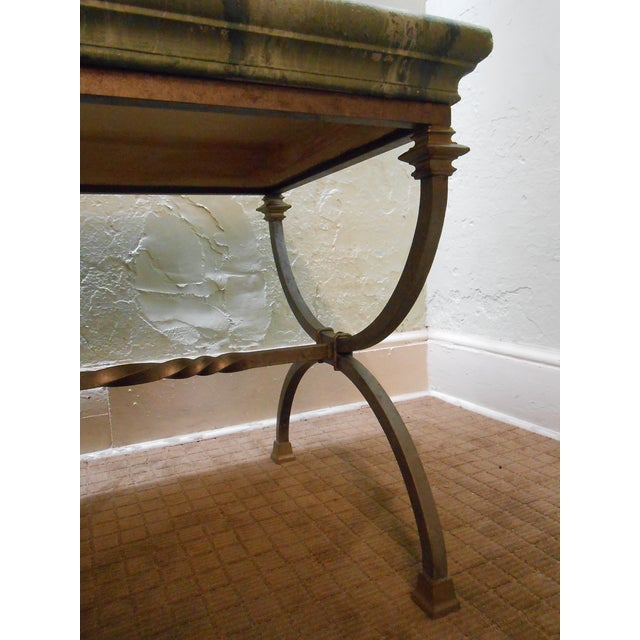 Regency Directoire X Base Iron Consoles - A Pair - Image 9 of 9