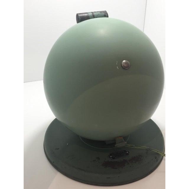 Green Bauhaus Style Hanau Quartz Table Lamp/Vanity Mirror For Sale - Image 8 of 8
