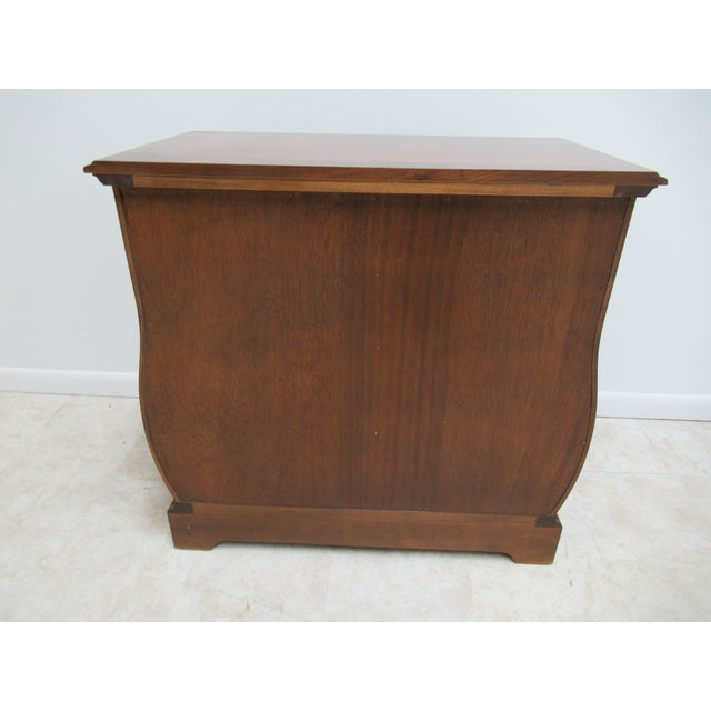 French Country Weiman Serpentine Bachelors Chest For Sale - Image 12 of 13