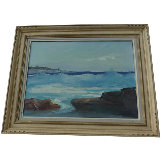 M. F. Musgrave Rockport Painting - Image 1 of 8