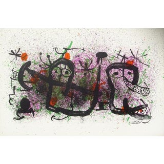 Joan Miró, Ma De Proverbis, Modern Lithograph For Sale