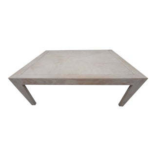 Contemporary Donghia-Style Large-Scale Cocktail Table For Sale