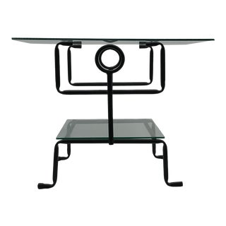 Post Modern Stick Figure Side Table For Sale