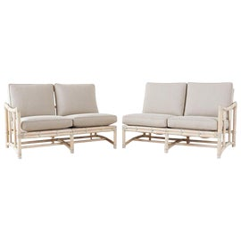 Image of Rattan Loveseats