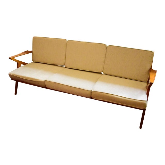Danish Modern Z Sofa - Image 1 of 5